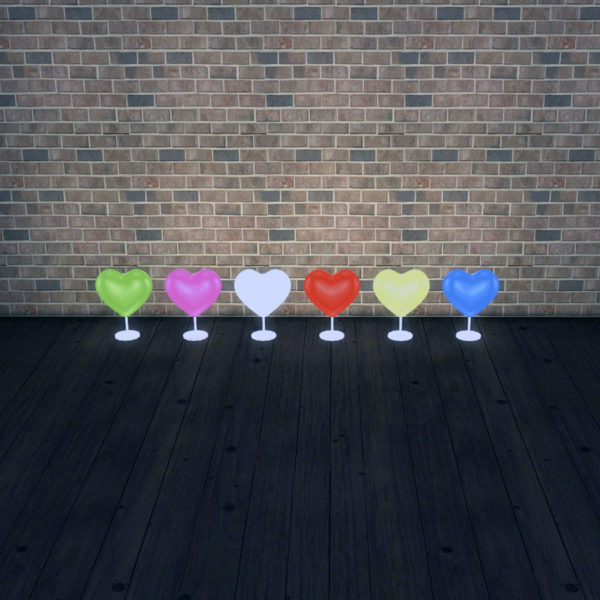 heart-lamp