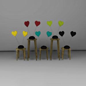hearts deco