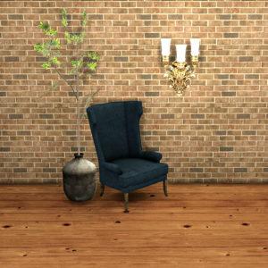 oldish armchair