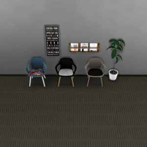 bb italia dining chair