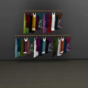 dress racks