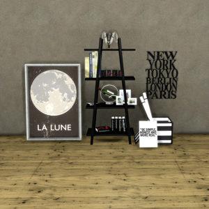 loft bookshelf