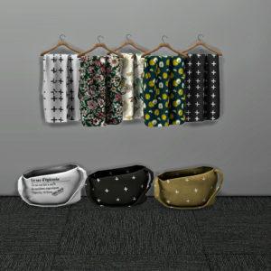 bag and cloth