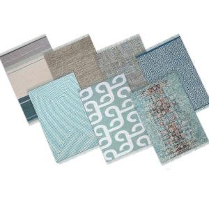 caro blue rugs