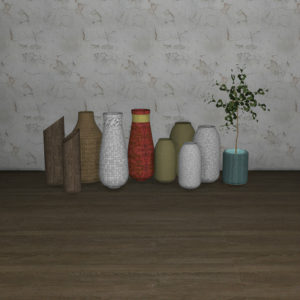 april vases