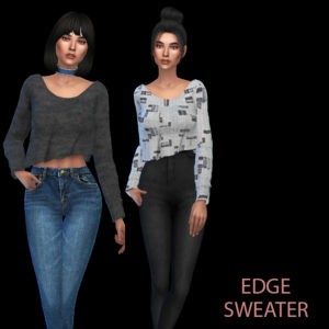 edge sweater