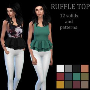 ruffle top