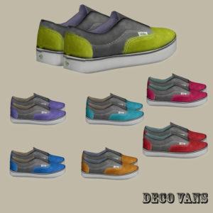 van shoes deco