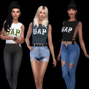 gap shirta