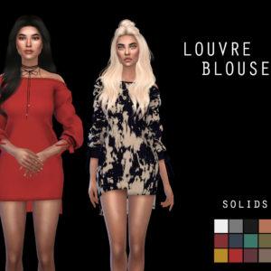 louvre blouse