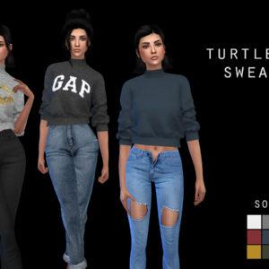 s turtleneck sweater