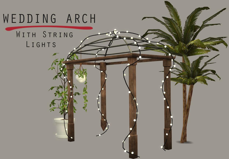 Lighted Wedding Arch Leosims